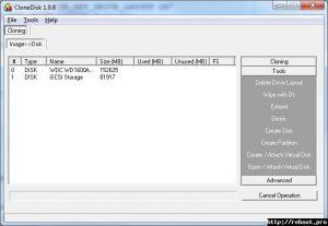 Creează sau șterge o partiție pe HDD în Windows
