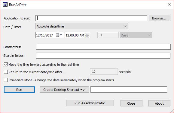 Cum rulezi un program automat la o anumită dată și oră