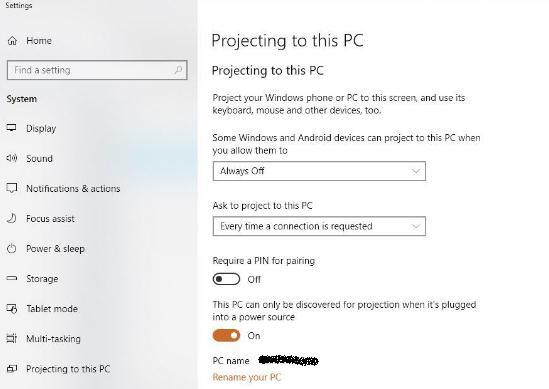 Cum să proiectezi pe PC cu Miracast