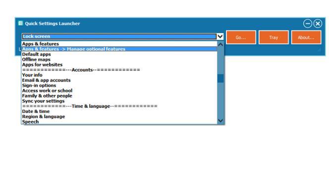 Deschide aplicația Setări din Windows 10 mai rapid
