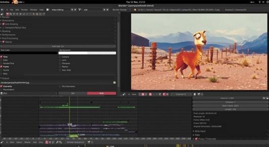 Program animație 3D Blender
