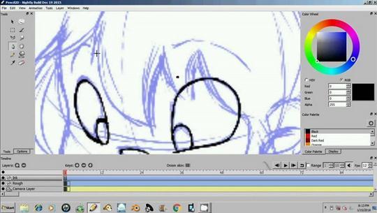 animatie grafica sau poze Pencil 2D