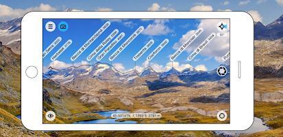 aplicatie pentru Identificarea vârfurilor montane PeakFinder AR