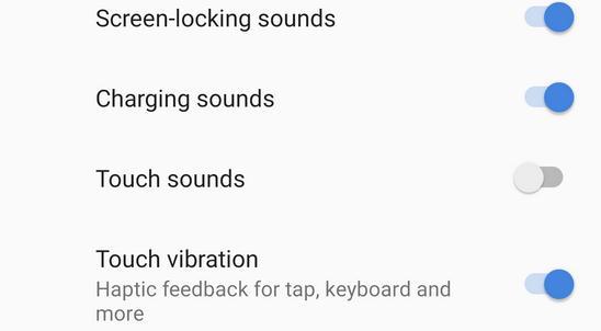 Dezactivează vibrația la telefon android