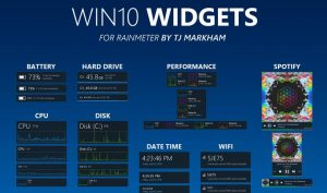 Personalizare desktop Windows 10