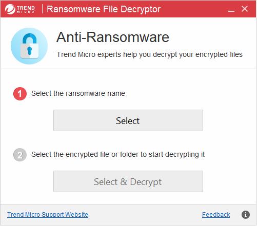 Program pentru decriptare fișiere ransomware