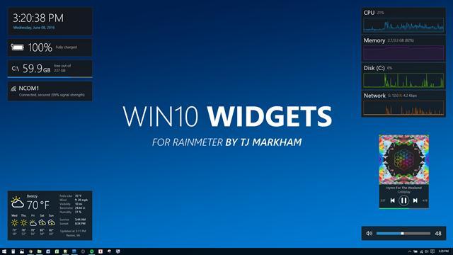 Program pentru personalizare desktop în Windows 10