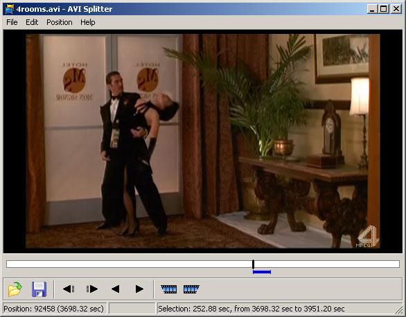 Programe pentru tăierea video AVI Splitter