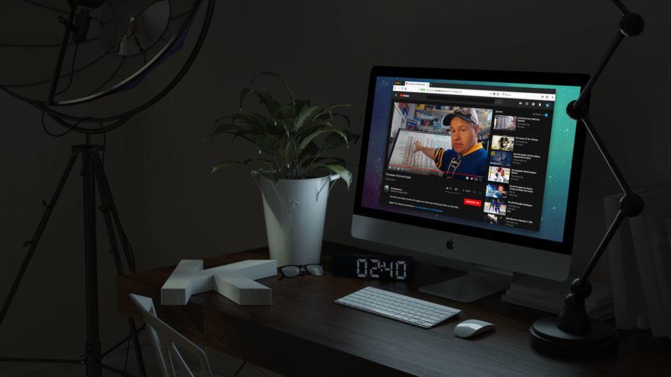 Temă întunecată Youtube (Dark Mode) pe PC sau Android