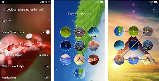 Alte aplicații de blocare ecran cu model sau parolă