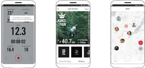 Alte aplicații pentru ciclism bicicletă GPS