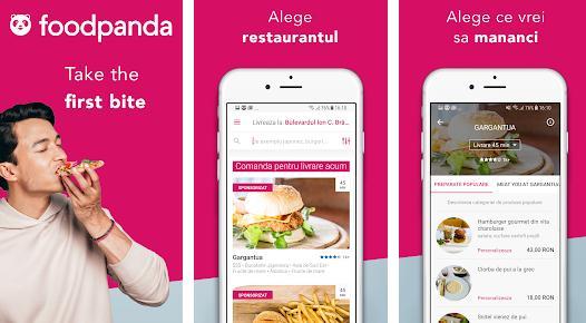 Alte aplicații pentru restaurante Foodpanda
