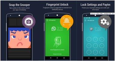 Aplicații blocare ecran cu amprentă iPhone sau Android applok