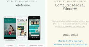Descarcă WhatsApp pentru laptop sau PC