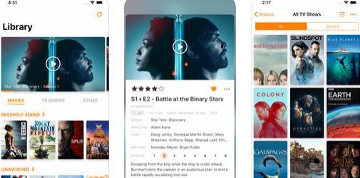 Infuse - program de văzut filme pe iPhone