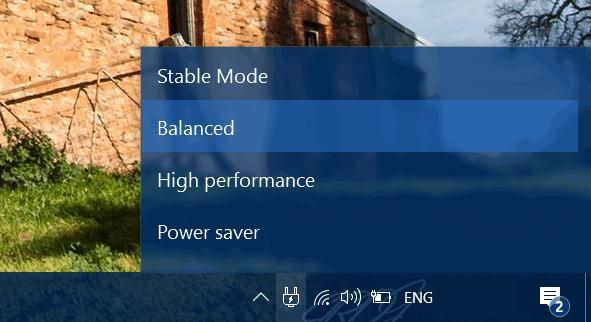 Schimbă planurile de alimentare în Windows 10