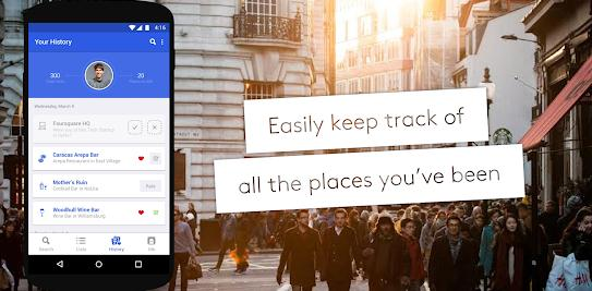 aplicatie meniu restaurant Foursquare