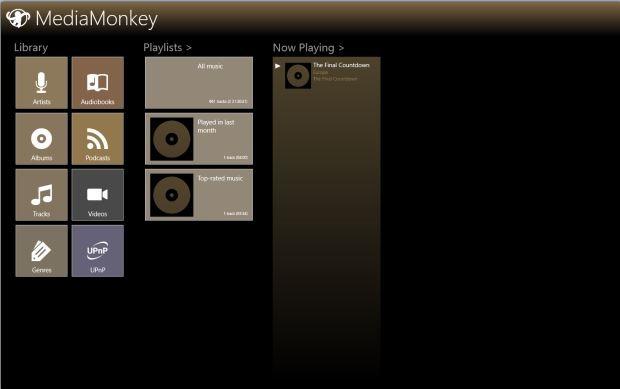 Aplicație care gestionează muzica și videoclipurile în Windows 8