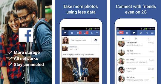 Aplicații pentru Facebook messenger Facebook Lite (Android)