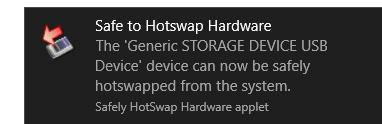 Caracteristici HotSwap