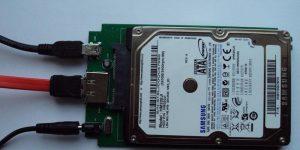 Conectare hard disk extern la laptop sau calculator