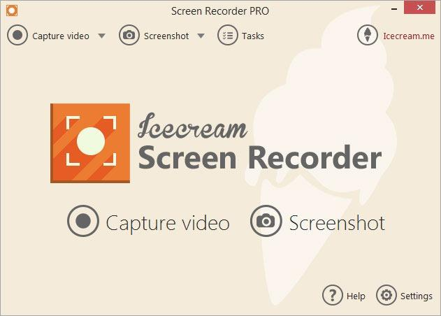 IceCream Screen Recorder captura ecran PC laptop windows