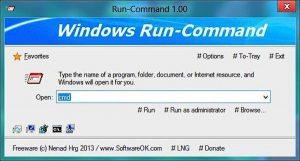 Program pentru linia de comandă în Windows 10