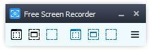 Programe de înregistrat ecranul Free Screen Video Recorder