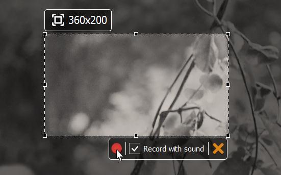 Programe de înregistrat ecranul SRecorder