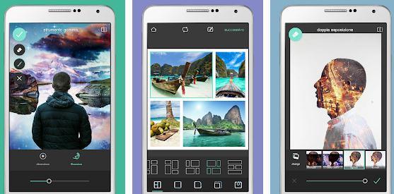 Alte aplicații pentru colaje foto Android sau iPhone