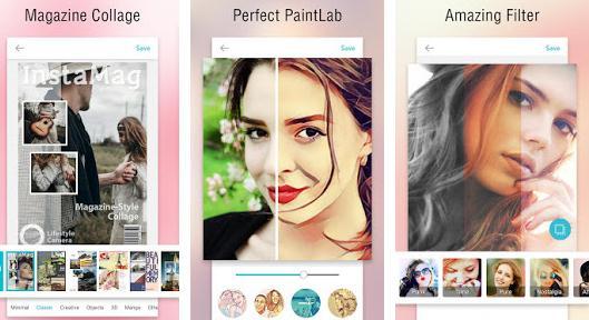 InstaMag Aplicații pentru colaje foto