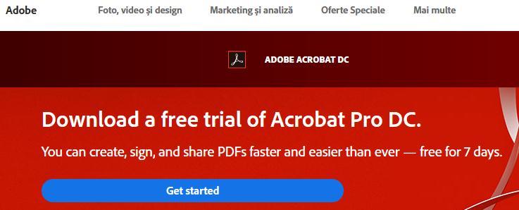 Cum pot semna un document PDF?