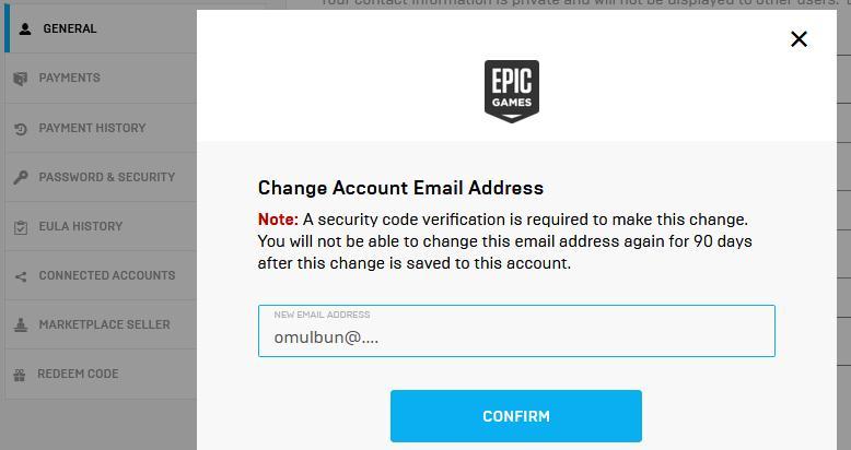 Cum schimbi e-mail la un cont de Fortnite
