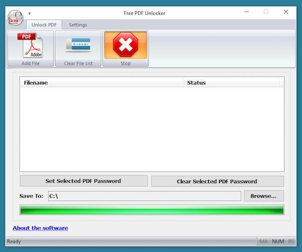 Free PDF Unlocker