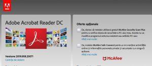 Instalare Adobe Reader gratuit (PDF) pentru browser