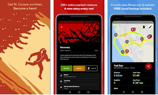 Zombies, Run iphone android