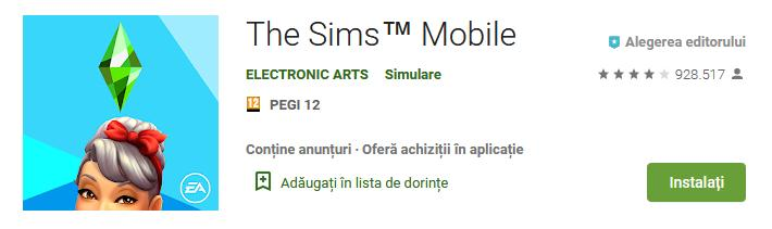 descarca The Sims Mobile