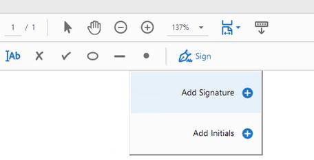 semnatura digitala in PDF