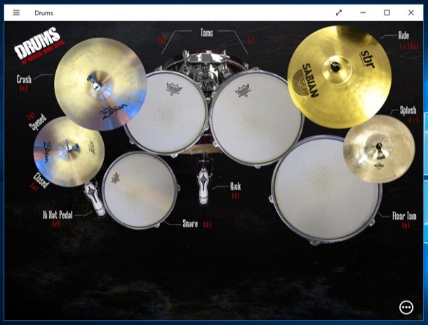 tobe pentru copii Drums (Windows 10)