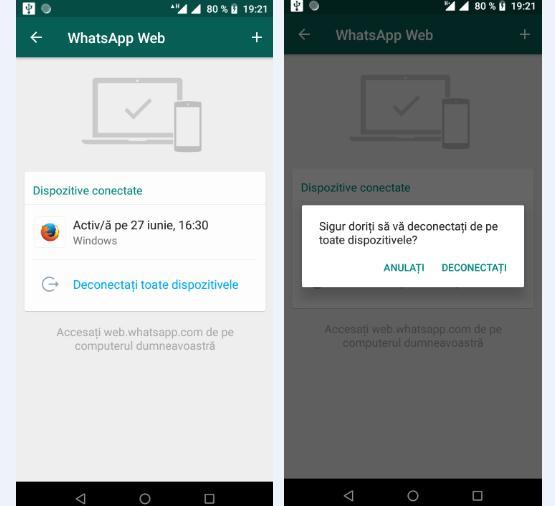 Controlează activitatea pe Facebook și WhatsApp