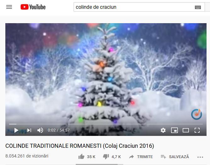 Cum creezi pe Youtube un playlist cu colinde de crăciun românești