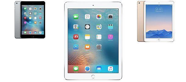 Modele iPad