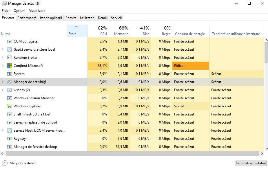 aplicatiile care consuma cel mai mult bateria la laptop