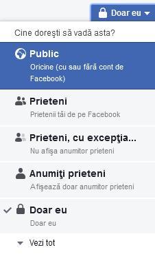 blocare comentariile la facebook