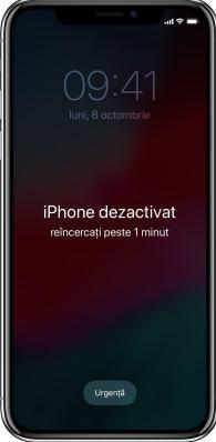 restaurare un iphone blocat cu parola