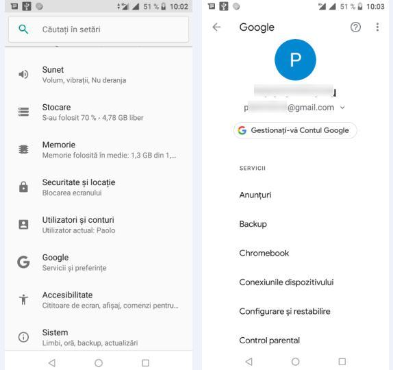 Șterge căutările anterioare pe Android sau iPhone