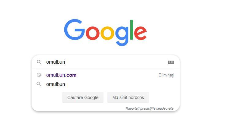 Șterge căutările anterioare pe Google