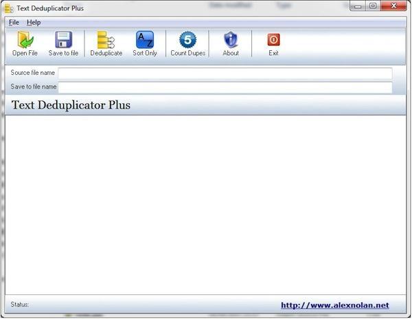 Caută și șterge cuvintele duplicate din documente text