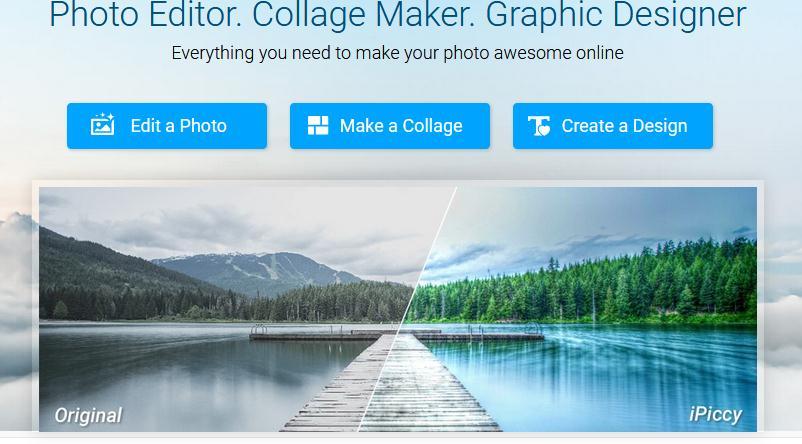 Editează poze online cu ipiccy.com