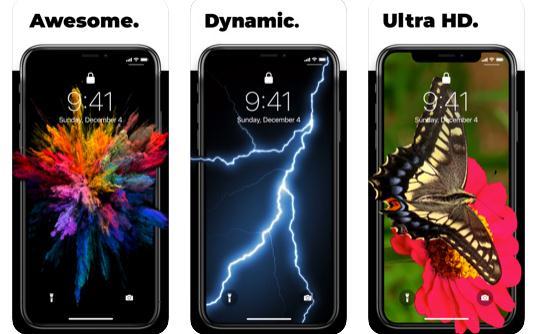 Alte aplicații cu imagini de fundal pentru iPhone
